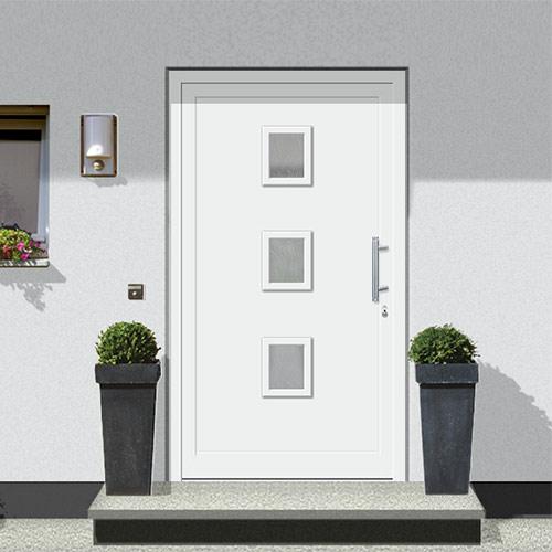 Gestalten Sie Ihre Wunsch-Haustür